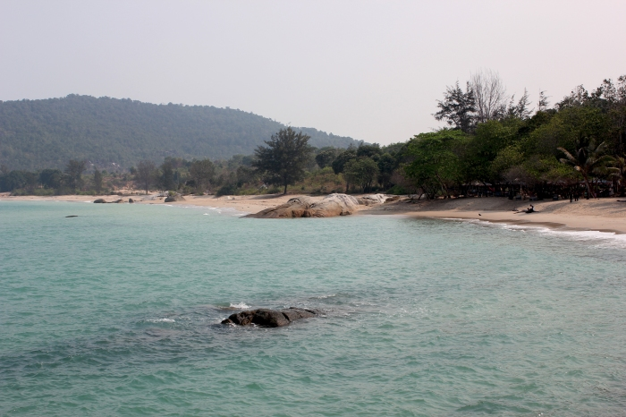 Bangka island beach