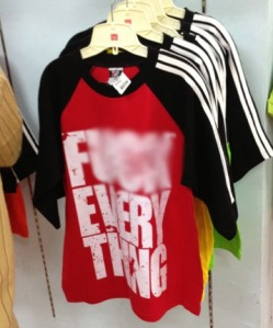 F*** Everything shirt