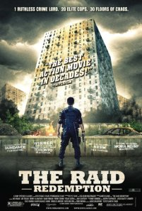 The film delivers on the poster's  promise of ruthless chaos.  (The Raid: Redemption/IMDB)