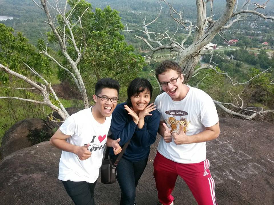 Hiking Tangkiling Hill in Central Kalimantan. - By Chistopher Linnan placed in Palangkaraya, Central Kalimantan