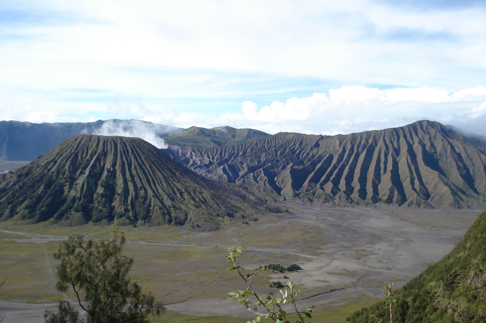 Gazing at beautiful Mt. Bromo - By Emily Masters placed in Palankaraya, Central Kalimantan