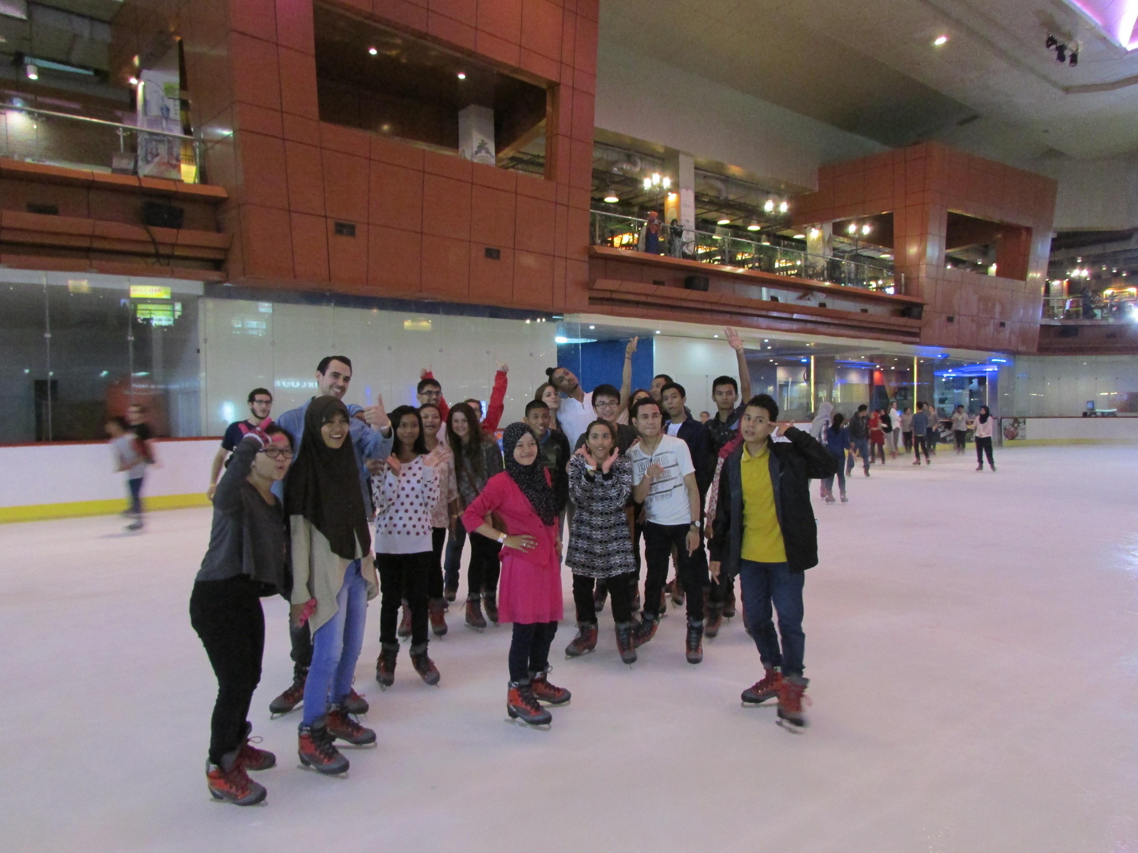 Roller skating rink jakarta -