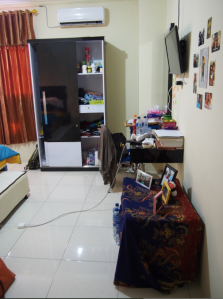 Shalina's room in the kost.