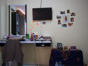 Another view of Shalina's room.