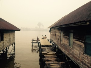 The ubiquitous smog of Pontianak.