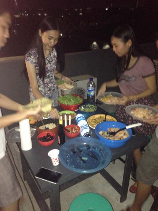 A Mexican fiesta, Indonesian-style.
