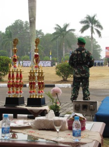Hari Tentara Nasional Indonesia celebrations underway.