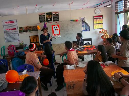 4- Shalina, Halloween in the Classroom