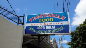Praises be -- a 100% vegetarian-friendly restaurant!